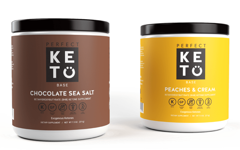 Perfect Keto Base Exogenous Ketones BHB Salts