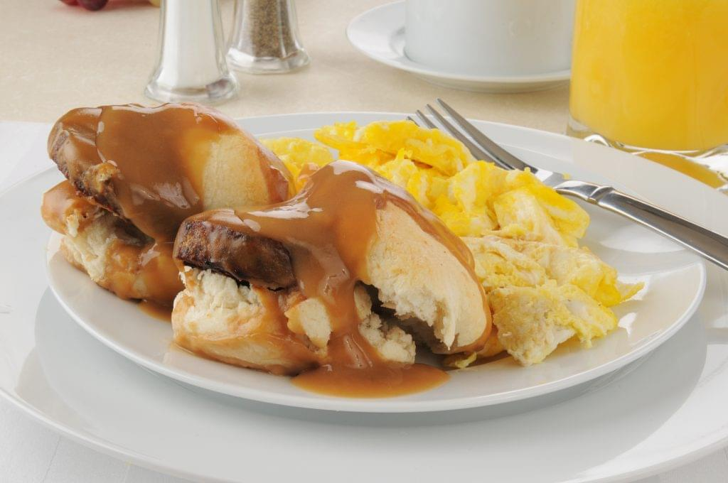 Biscuits and Sausage Gravy - Ketogenic Diet Resource