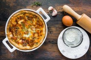 Garlic and Thyme Baked Egg