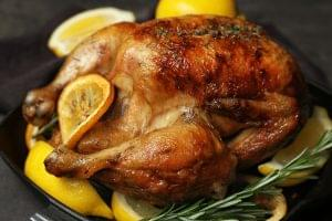 Slow Cooker Lemon Rosemary Chicken