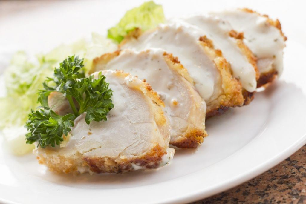Three Cheese Chicken Cordon Bleu