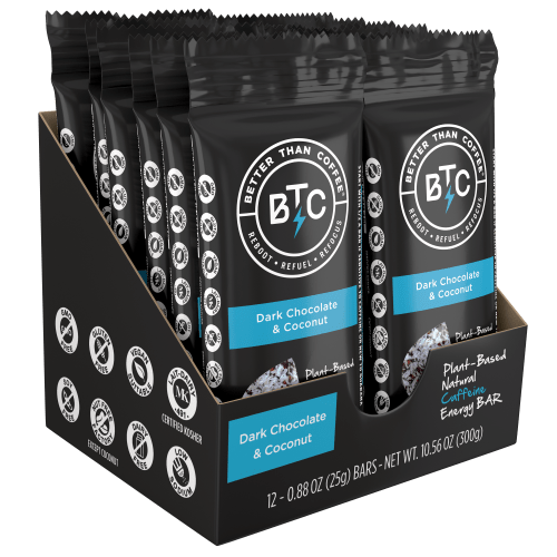THE BETTER THAN COFFEE ENERGY BARS Review – Does it Really Surpass Coffee?