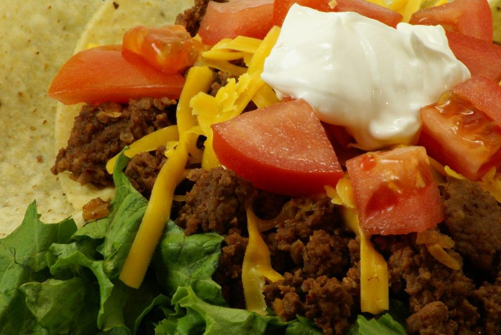 Ground Beef Taco Salad - Ketogenic Diet Resource