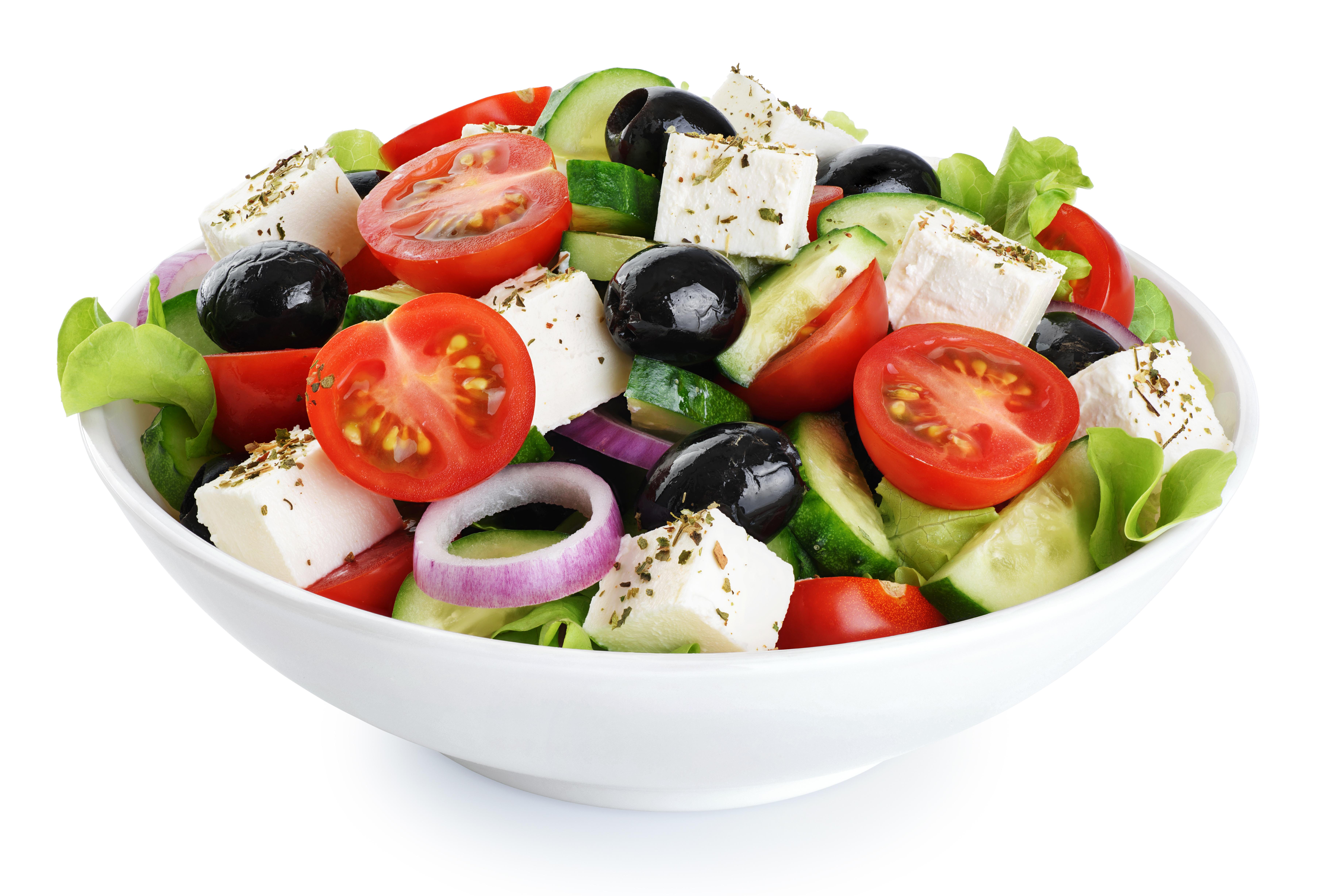 Keto - Greek Salad - Ketogenic Diet Resource