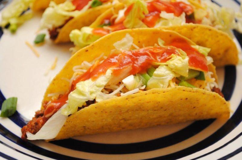 Cheesy Taco Shells