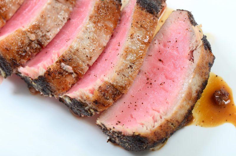 Coffee Rubbed Tuna Steak