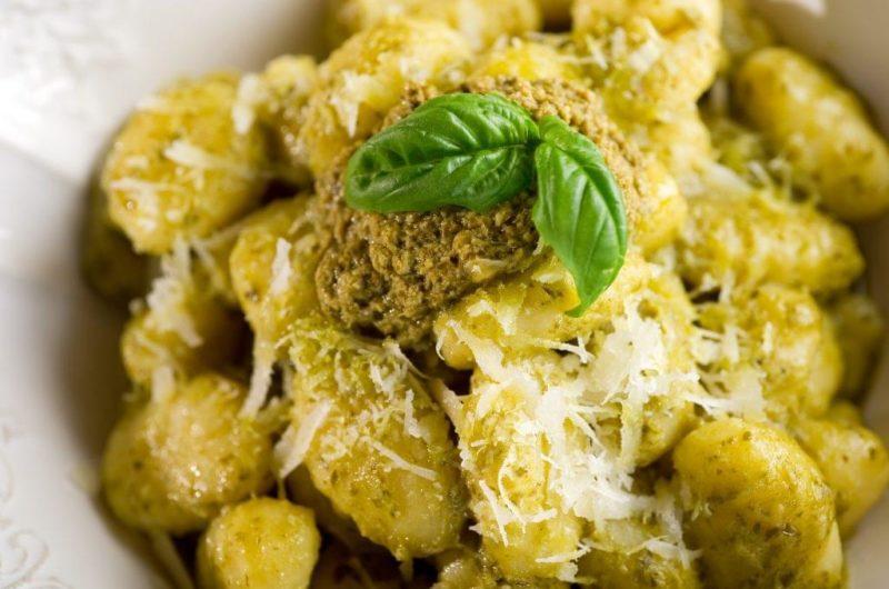 Garlic Pesto Gnocchi