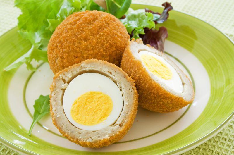 Sage Sausage Scotch Eggs