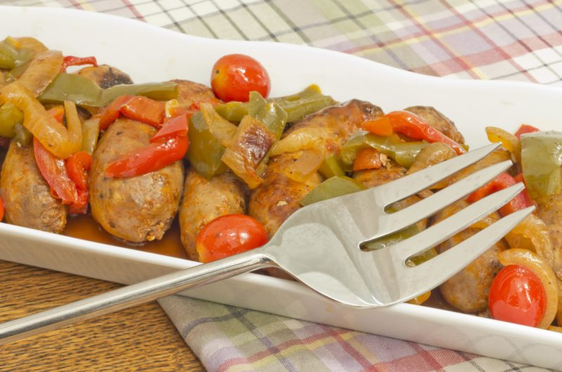 Sausage and Pepper Ragout