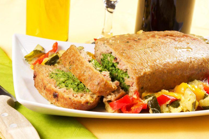 Sausage and Sage Meatloaf with Orange Zest