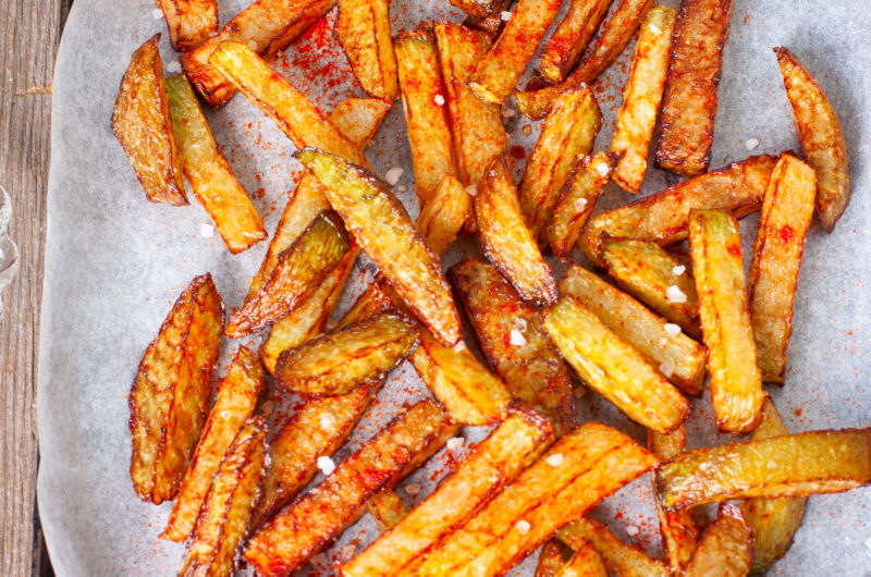 Baked Turnip Fries