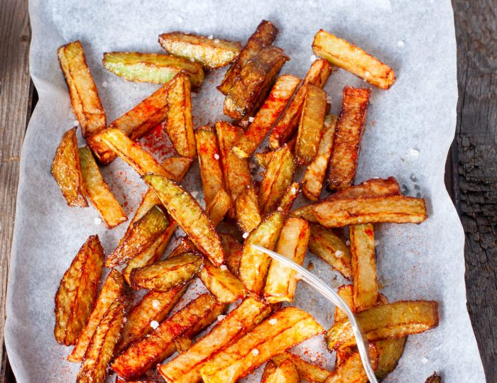turnips fried fries