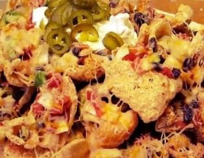 Cheesy-Pork-Rind-Nachos